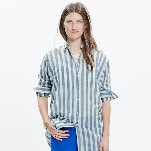 Oversize Button-Down Shirt