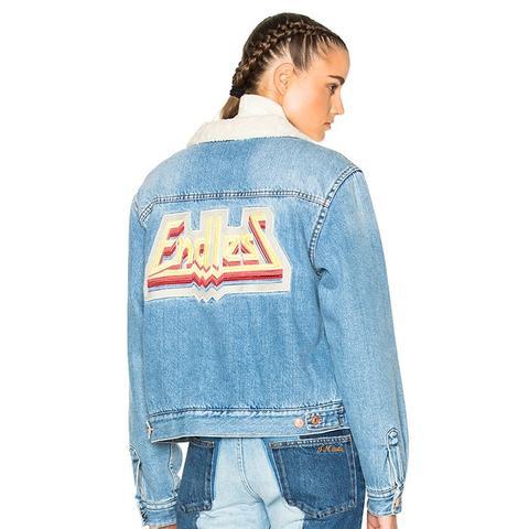 Etoile Camden Denim Jacket in Medium Blue