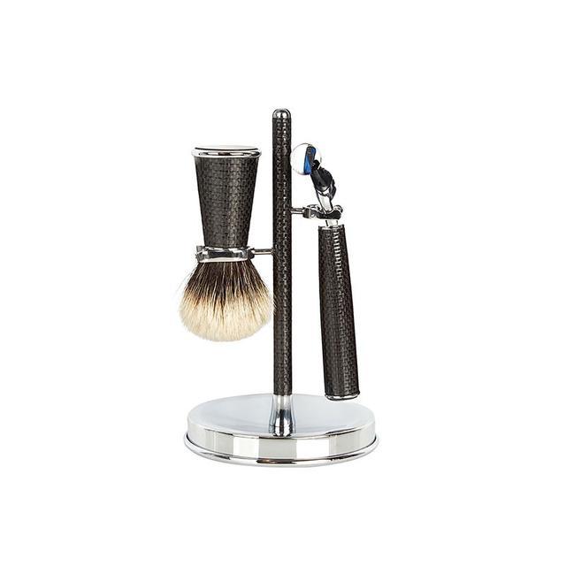 Cedes Milano Carob-Fibre Shaving Set