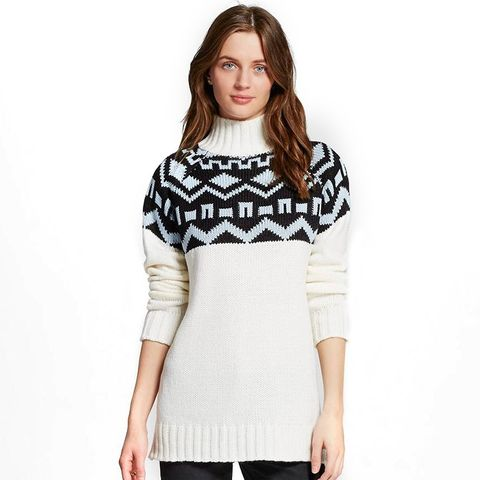 Fair Isle Pullover Sweater