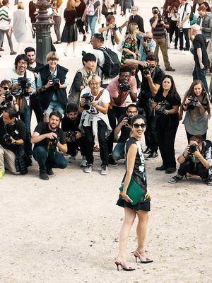 This Is What Fashion Week Really Looks Like (Yes, It's That Crazy)