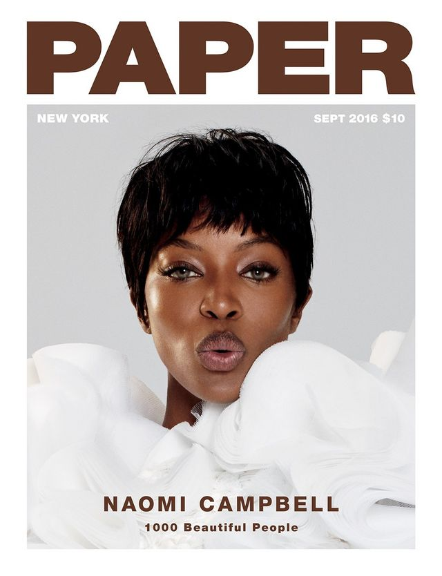 On Naomi Campbell: Viktor & Rolf Haute Couture dress.