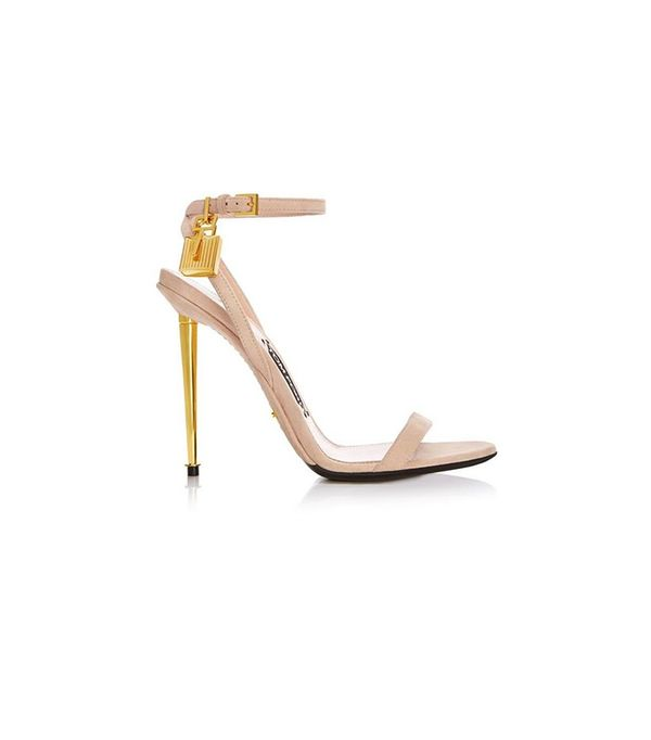 Tom Ford Strappy Sandal with Spike Heel