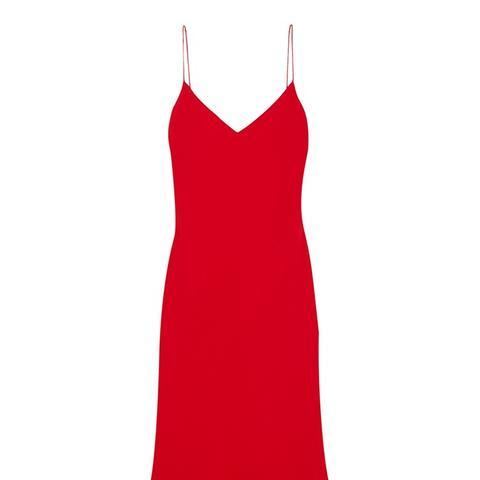 Hannelisa Silk-Chiffon Mini Dress