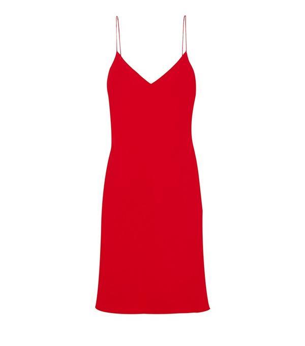Calvin Klein Collection Hannelisa Silk-Chiffon Mini Dress