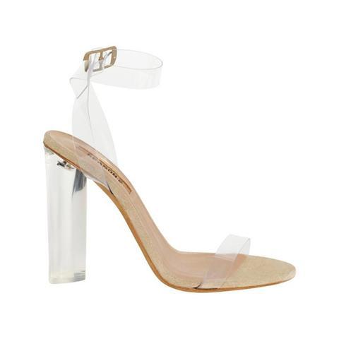 Lucite Sandals