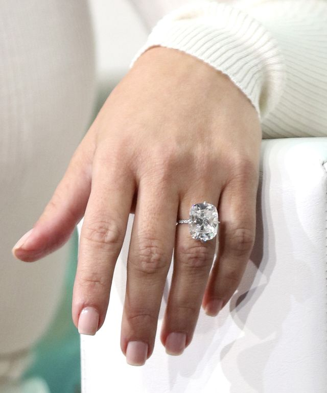 Her engagement ring: