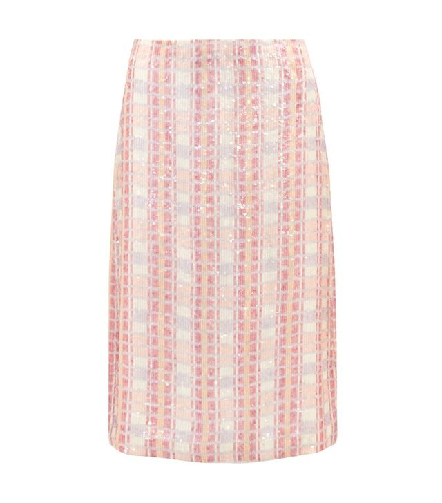 J.Crew Collection Sequined Skirt