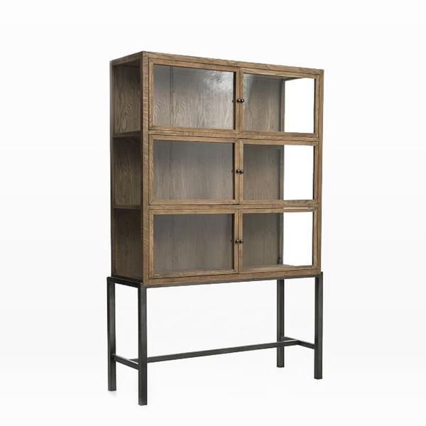 Curio Display Cabinet- Natural