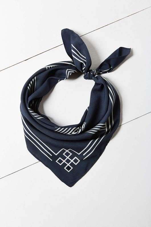 Urban Outfitters Silky Square Scarf