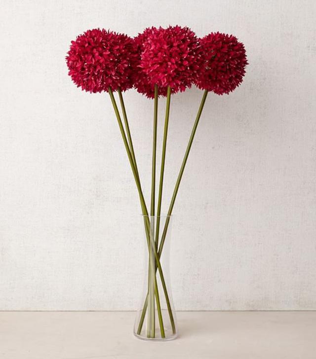 West Elm Faux Flower Head Stems