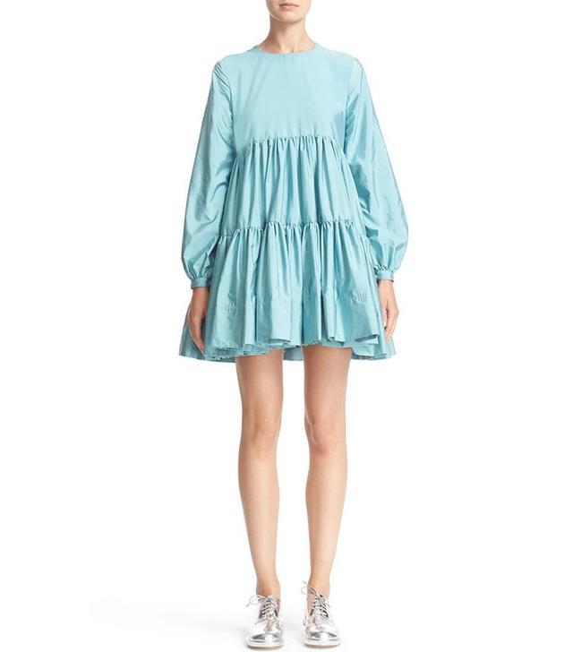 Molly Goddard Isobel Tiered Mini Dress
