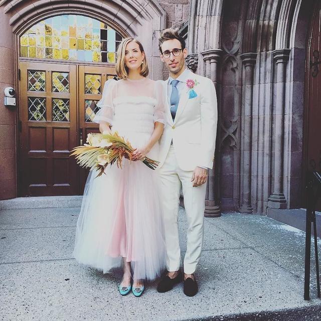 Agyness Deyn Molly Goddard Wedding Dress