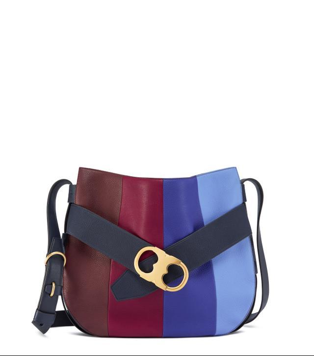 Tory Burch Gemini Link Stripe Shoulder Bag