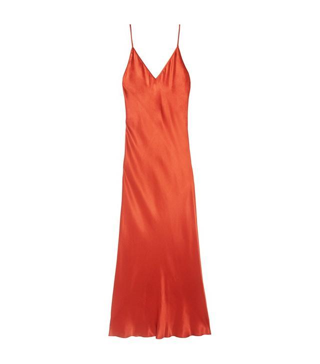 Protagonist Bias Silk-Charmeuse Midi Dress