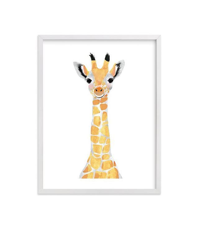 Cass Loh Baby Animal Giraffe Print
