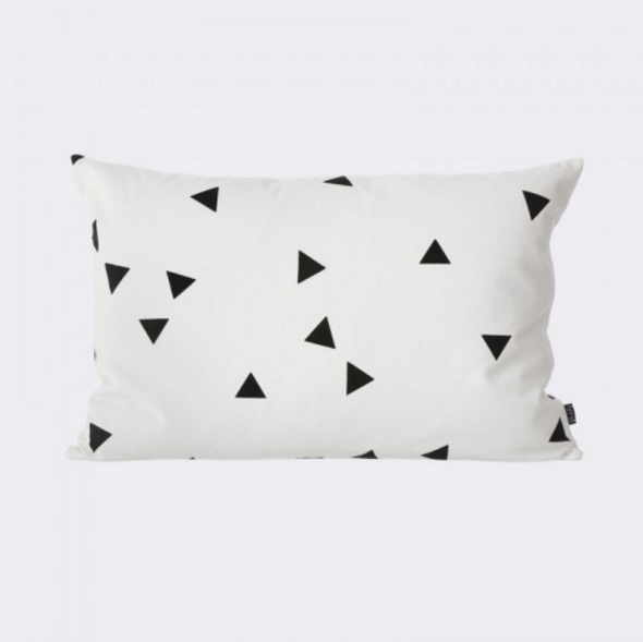 Lulu & Georgia Canvas Mini Triangle Pillow