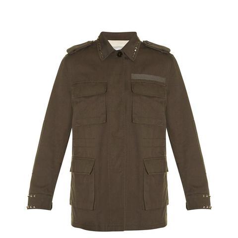 Rockstud Untitled #3 Byron cotton jacket