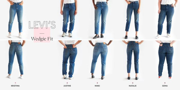 These Jeans Eliminate Muffin Top, Slim Thighs, and Boost
