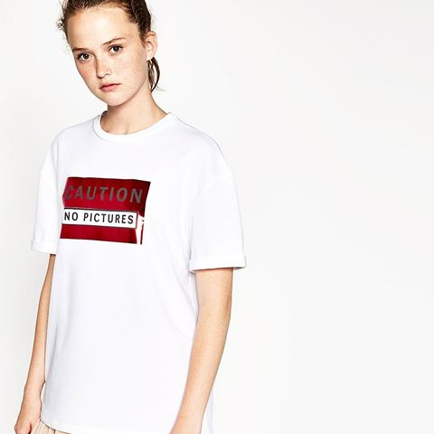 Dating diary t shirt zara
