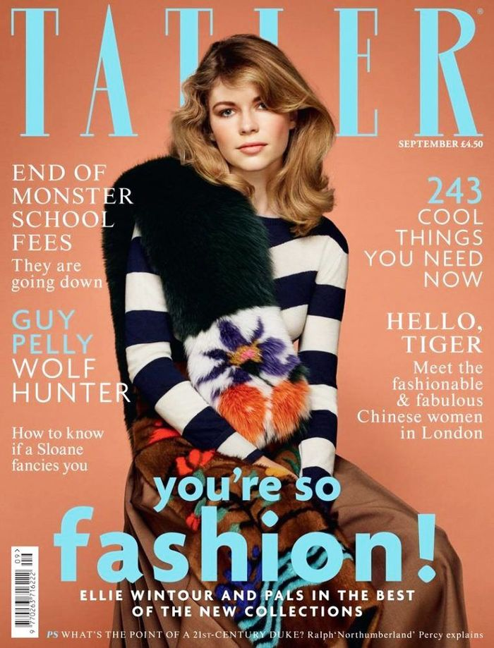 Ellie Wintour Tatler Magazine