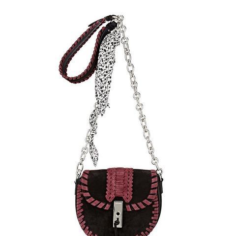 Ghianda Mini Chain Saddle Bag