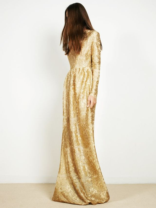 Perseverance London Embroidered Gown