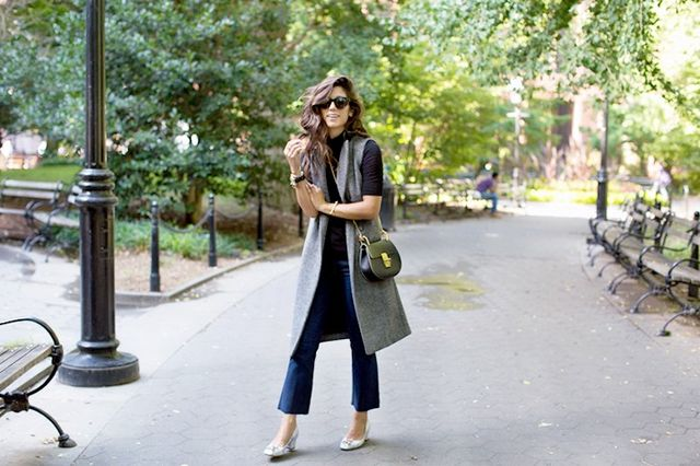 """I live for cropped denim, so I was excited to try out the cropped-flare trend that's been circulating ever since I saw it on Alexa Chung earlier last year. Admittedly, I was worried..."