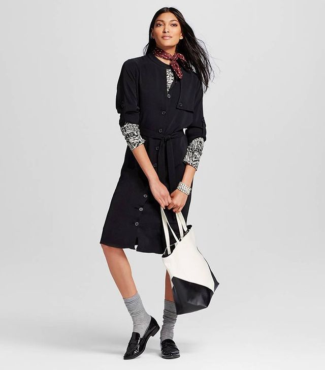 Who What Wear Trench Dress