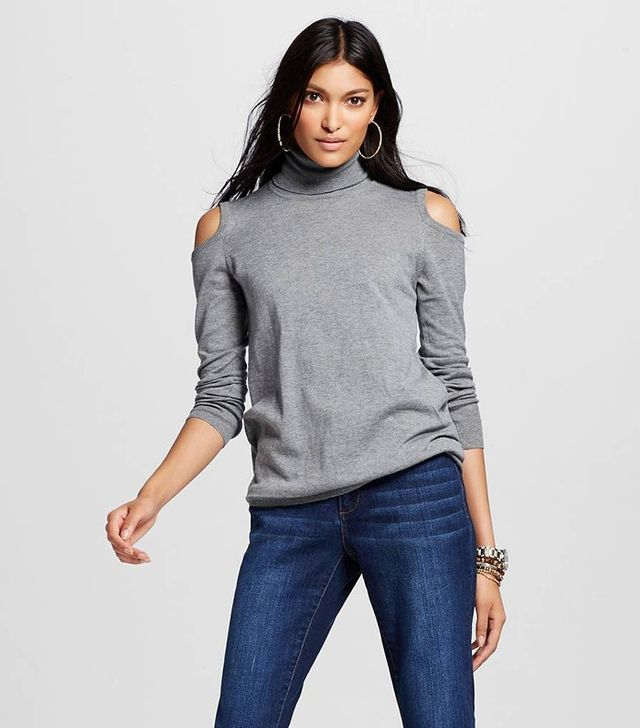 Who What Wear Open-Shoulder Tunic
