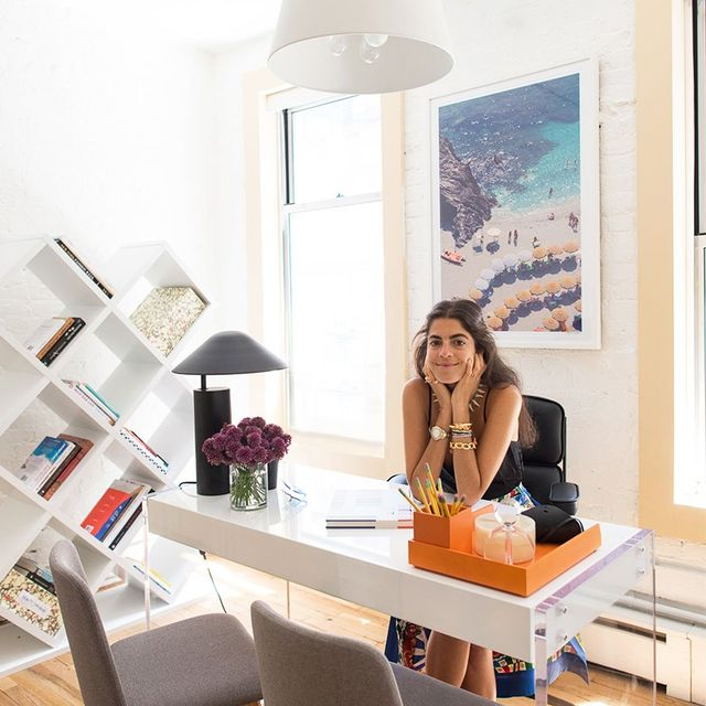 How a MAJOR Fashion Blogger Decorates Her Office