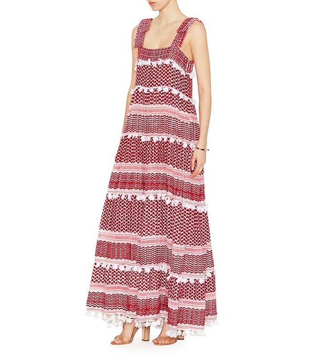 Dodo Bar Or Amal Tiered Maxi Dress