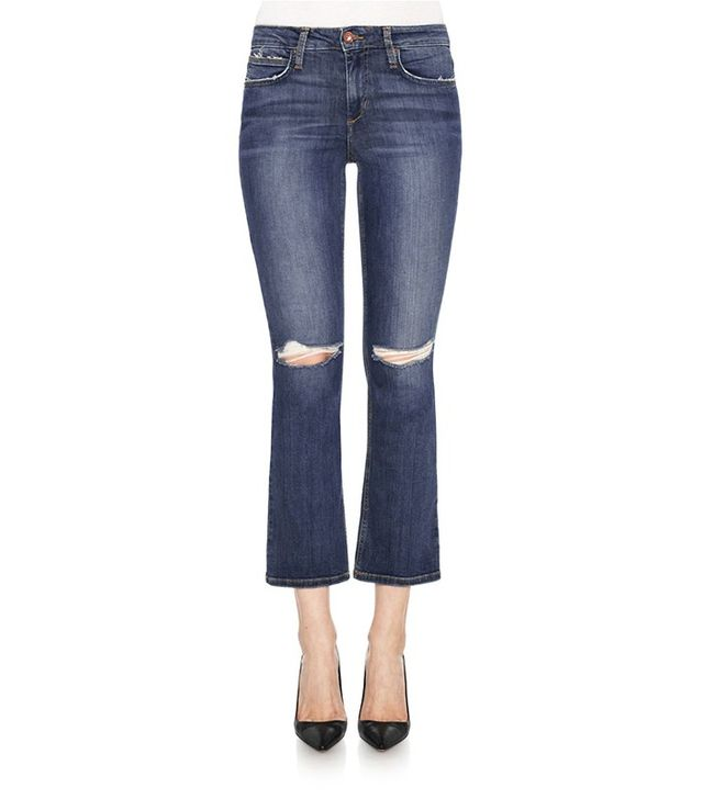 Joe's Jeans Olivia Mid-Rise Cropped Flare Jeans