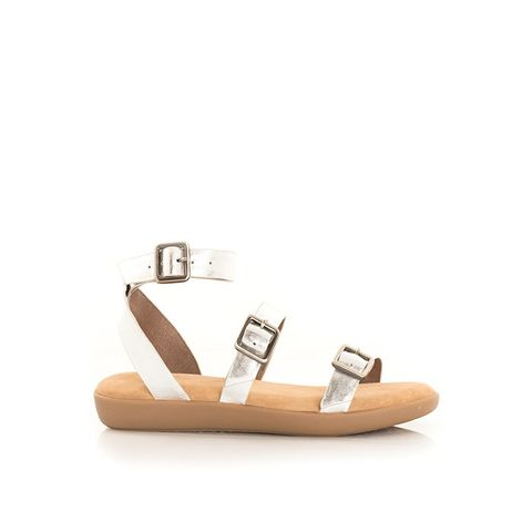 Sabine Silver Sandals