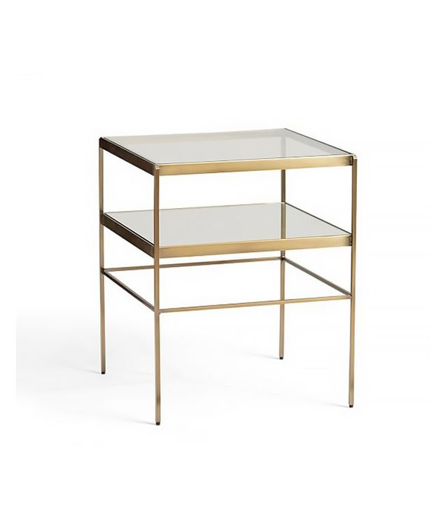Leona Metal Cubed Table