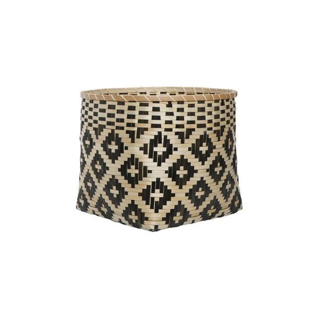Freedom Teo Basket Large in Black/Natural