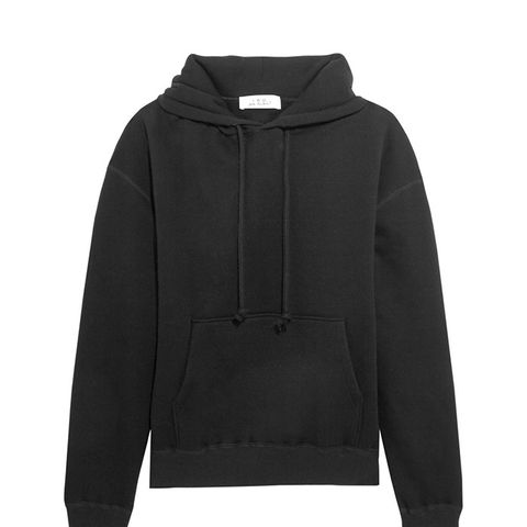 Onassis Cotton-Jersey Hooded Top