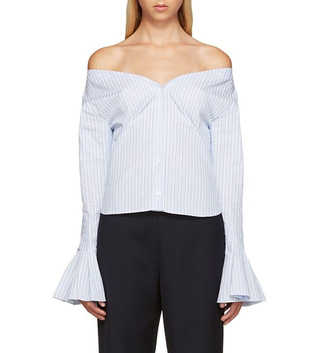 Jacquemus Off-the-Shoulder Shirt