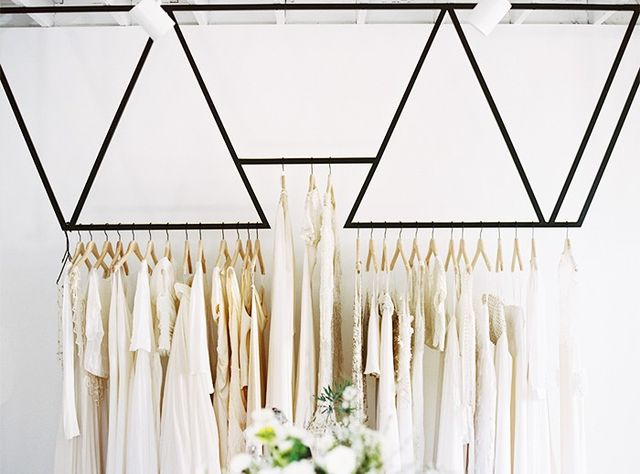 """Shopping for the perfect dress can take you by surprise. Just ask your married friends! We bet they'll agree: Often the dress isn't what you envisioned. So repeat after us: """"I..."""