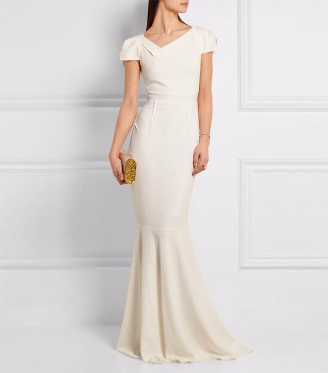 Roland Mouret wedding gown