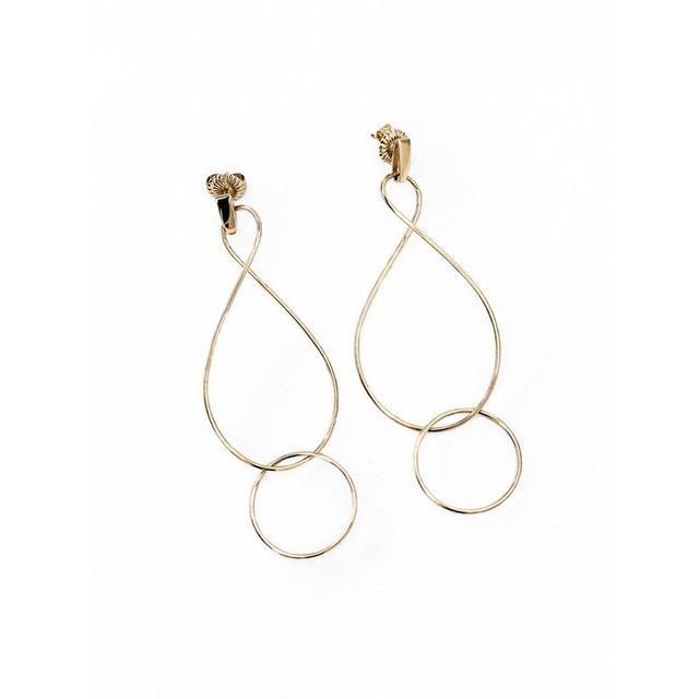 Natasha Schweitzer Infinity Twist Earrings