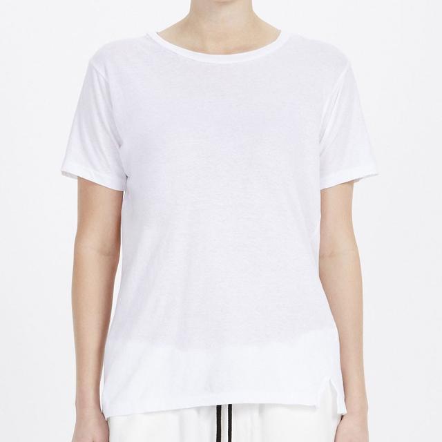 Bassike Slim Vintage Neck T-Shirt