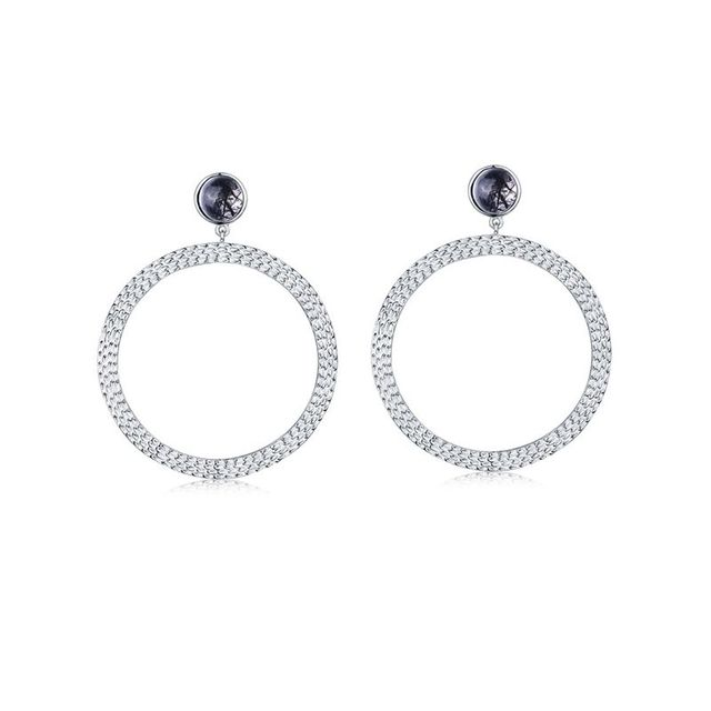 F + H Jewellery Bianca Large Hoops