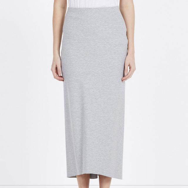 Bassike Stretch Long Tubular Skirt