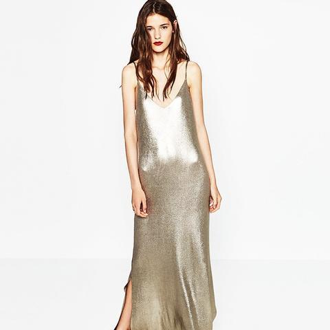 Long Shiny Dress