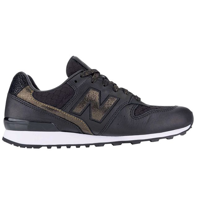 New Balance Embossed Leather 696 Sneakers