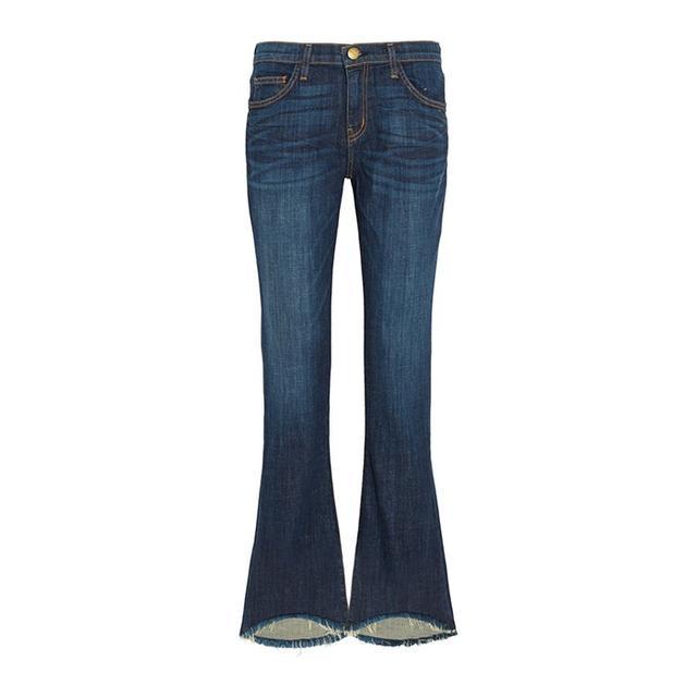 Current/Elliott The Flip Flop Mid-Rise Bootcut Jeans