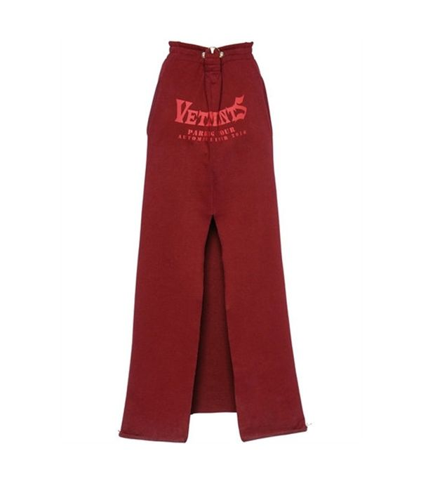Vetements Logo Skirt
