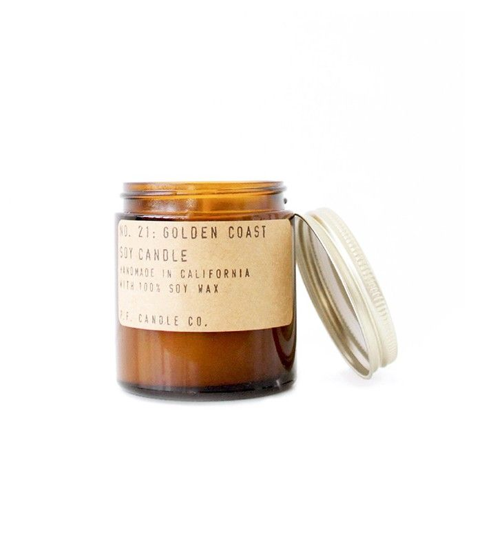 Golden Coast Soy Candle by P.F. Candle & Co.