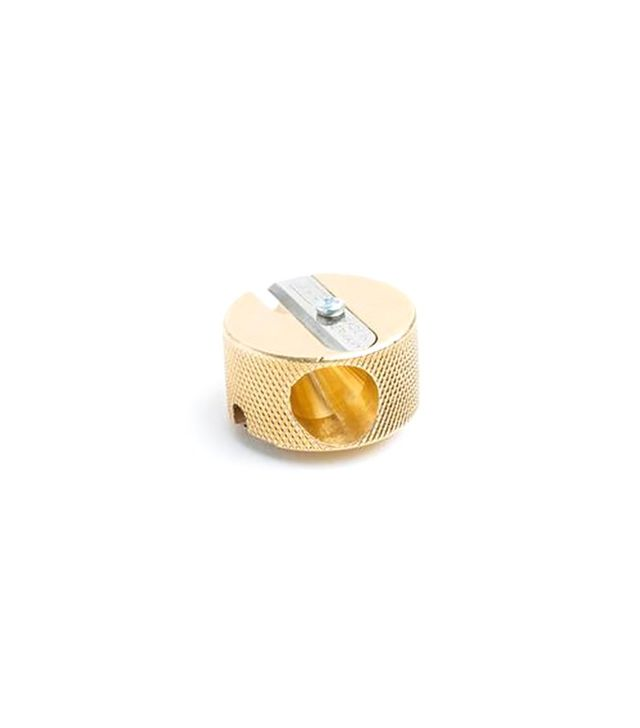 Poketo Brass Pencil Sharpener